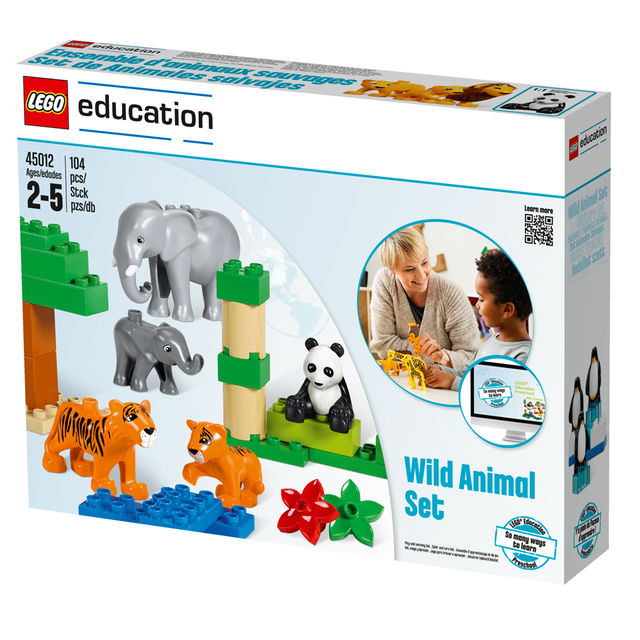 Lego Education Wild Animals Set Stemtoys